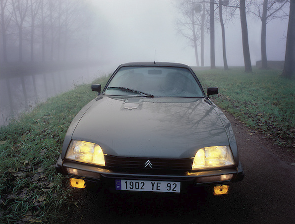 pierre et sa Citroën CX GTI turbo de 1985