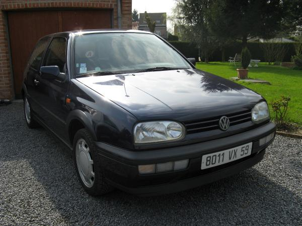 Tony et sa VW Golf III Gti de 1994
